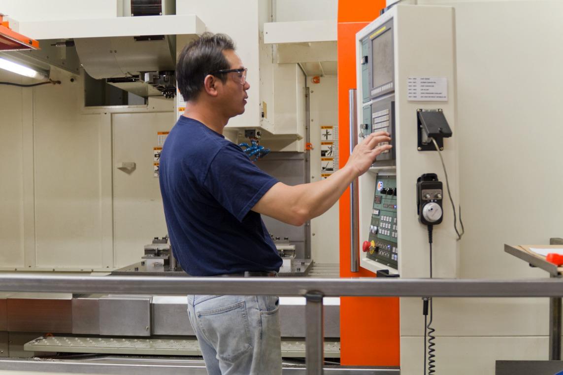 Vermes Machine Vertical CNC Mill
