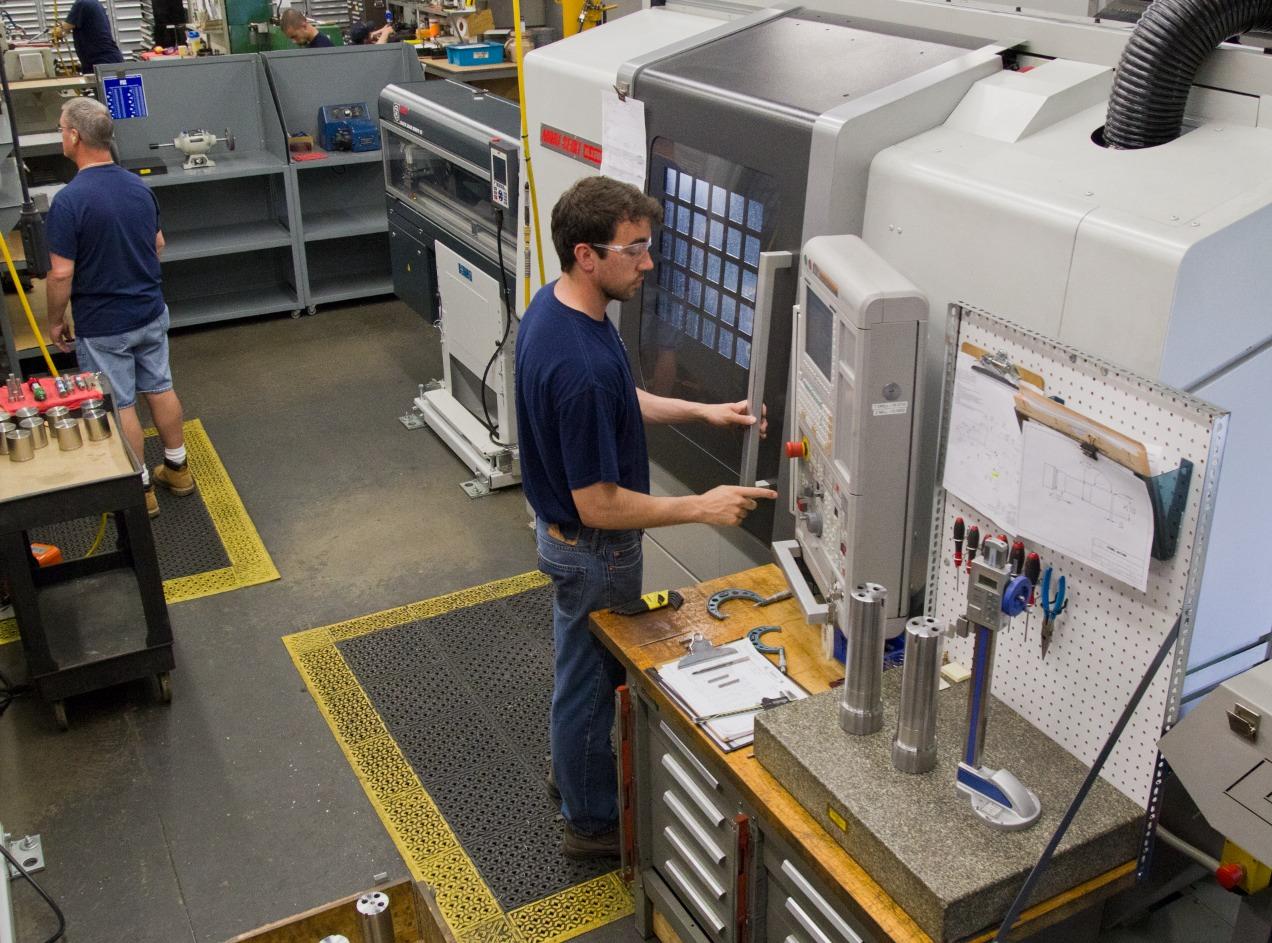 Mori Seiki NL2500 5 Axis Turn/Mill Manufacturing Cell